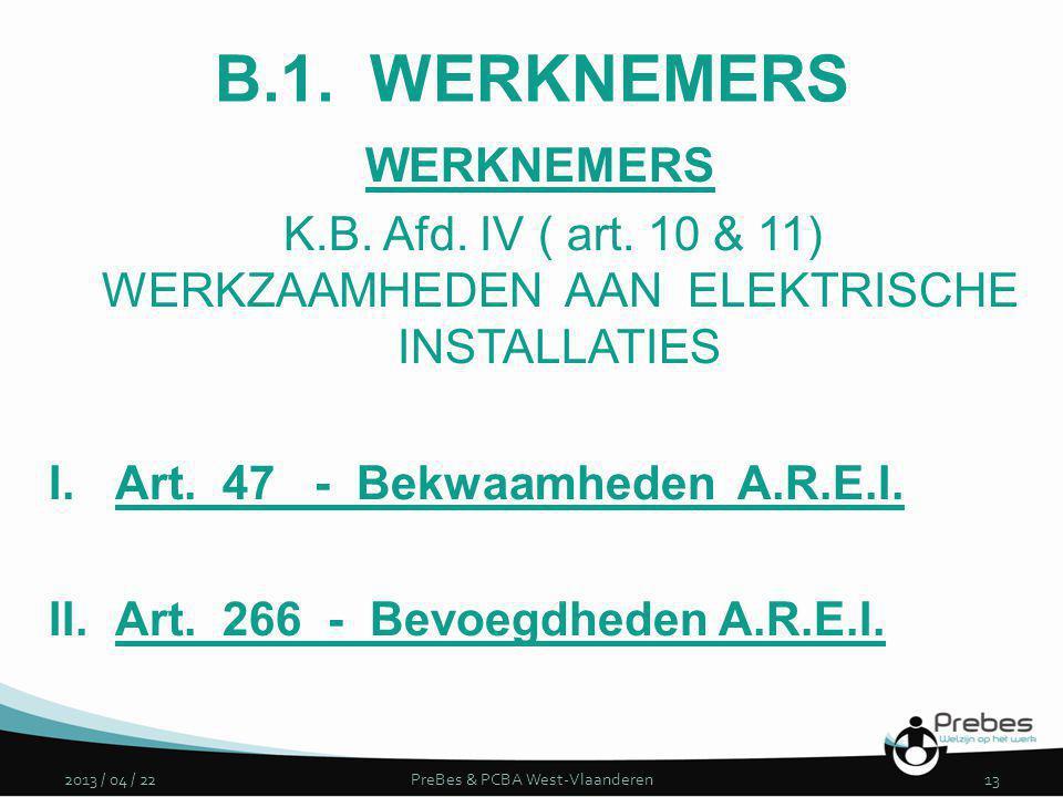 PreBes & PCBA West-Vlaanderen