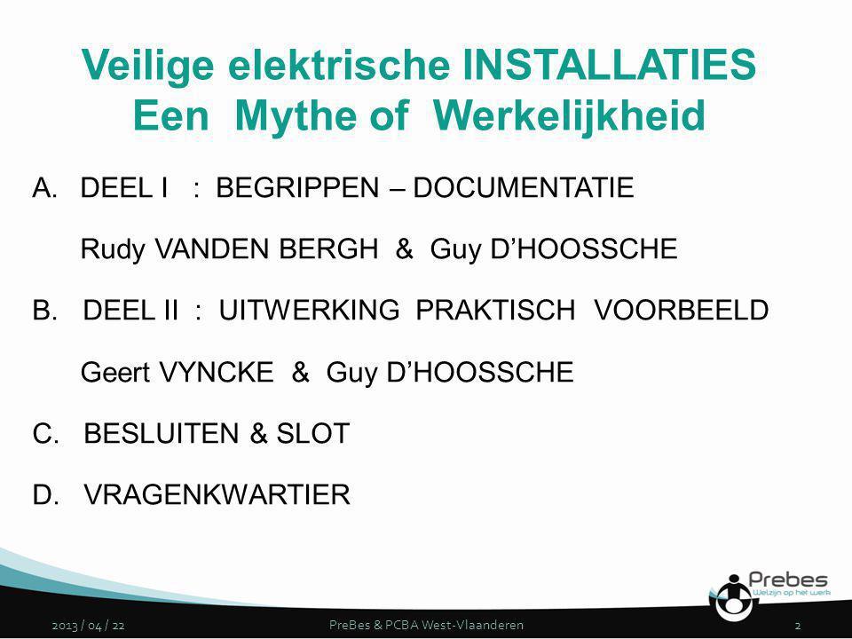 Veilige elektrische INSTALLATIES Een Mythe of Werkelijkheid