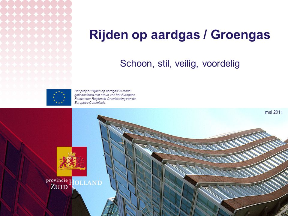 Rijden op aardgas / Groengas