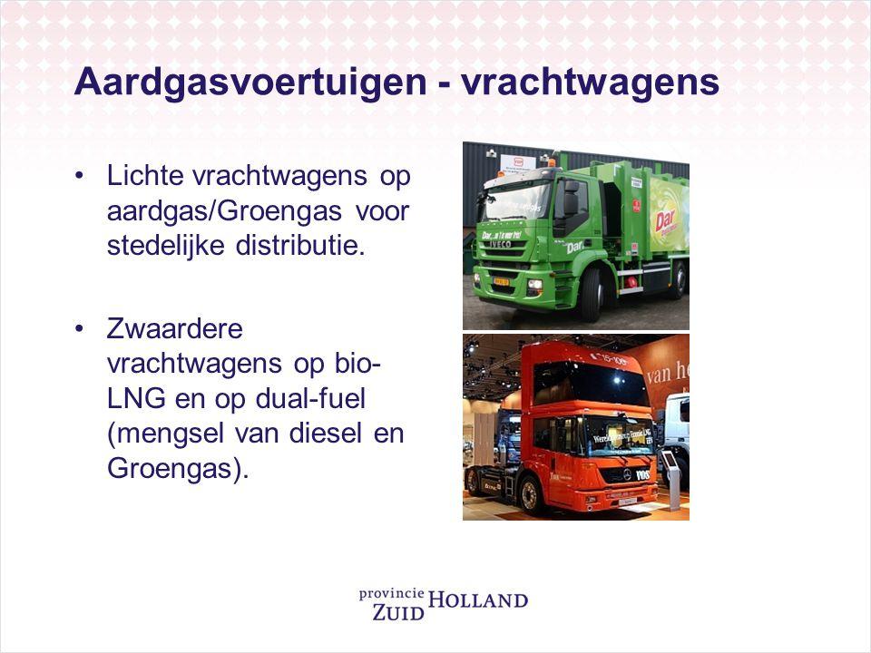 Aardgasvoertuigen - vrachtwagens