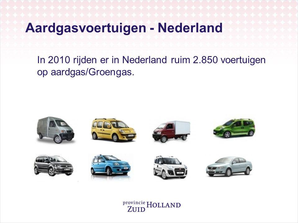 Aardgasvoertuigen - Nederland