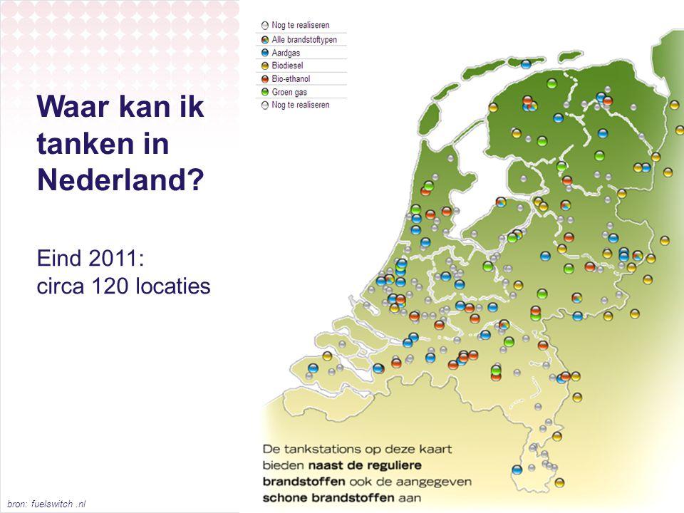 Waar kan ik tanken in Nederland