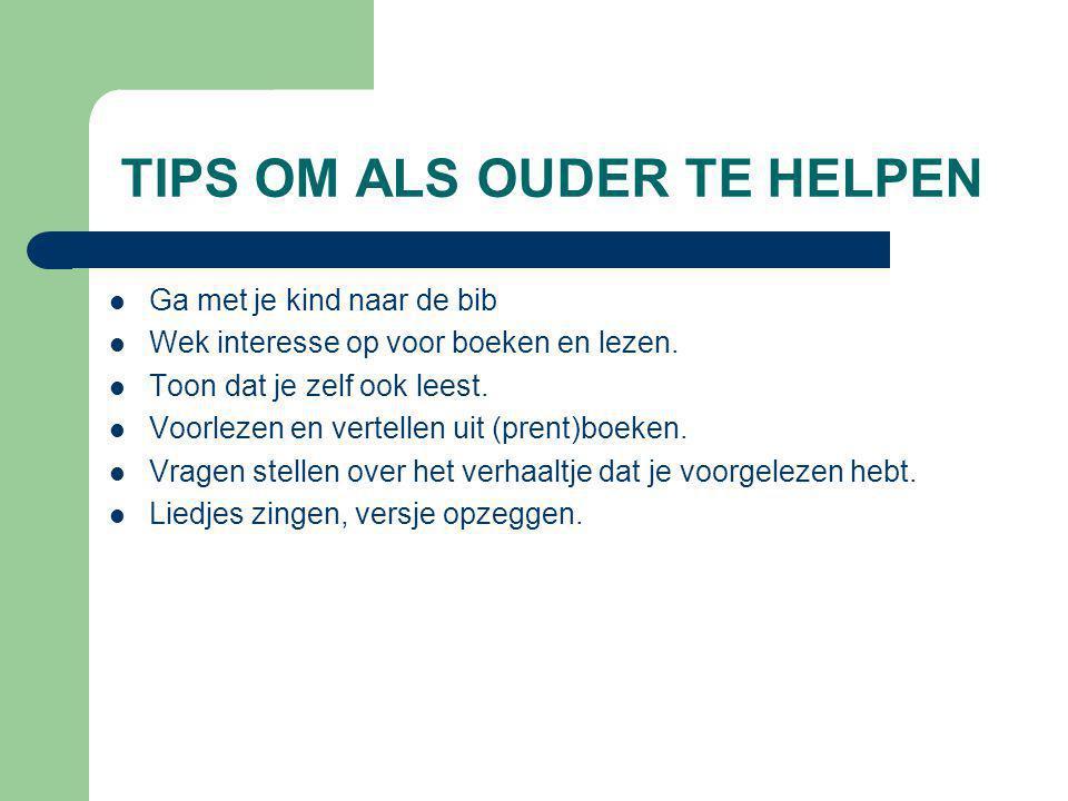 TIPS OM ALS OUDER TE HELPEN