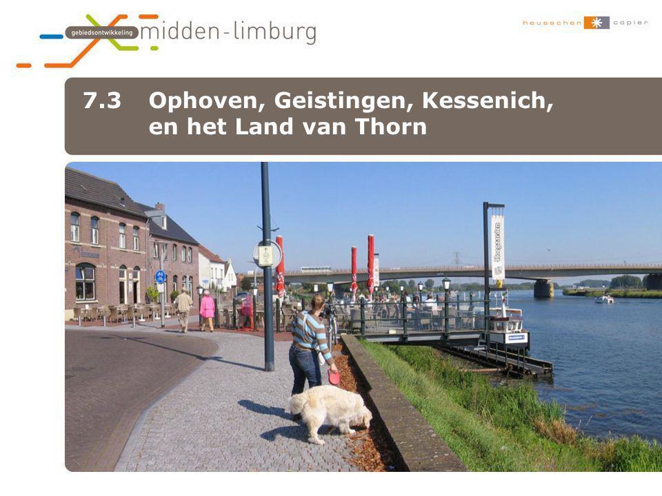 7.3 Ophoven, Geistingen, Kessenich, en het Land van Thorn