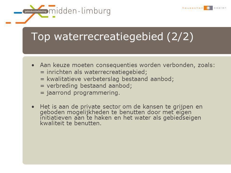 Top waterrecreatiegebied (2/2)