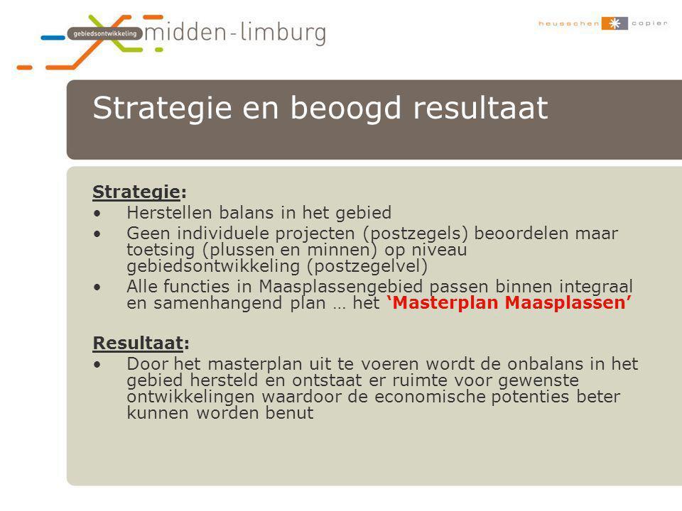 Strategie en beoogd resultaat