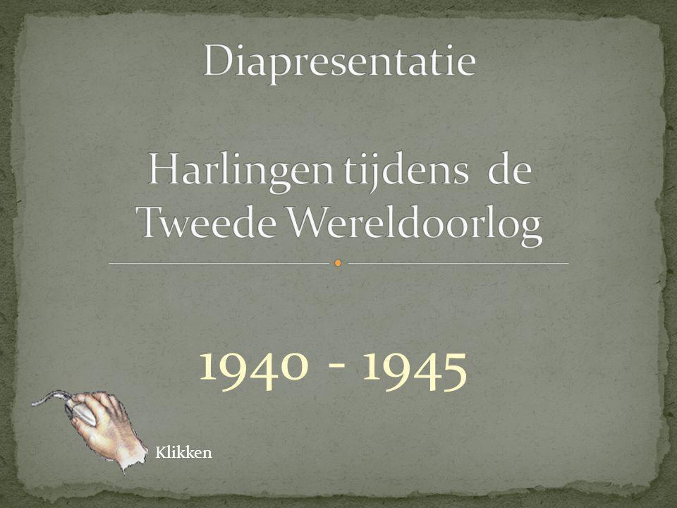 Diapresentatie Harlingen tijdens de Tweede Wereldoorlog