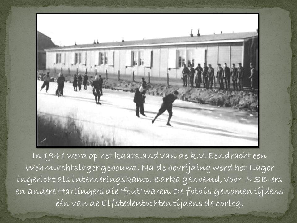In 1941 werd op het kaatsland van de k. v