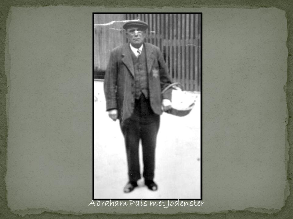 Abraham Pais met Jodenster