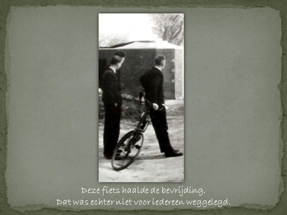 Deze fiets haalde de bevrijding.