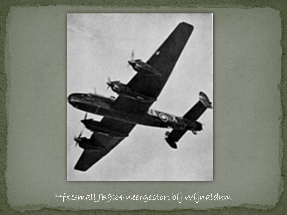 HfxSmall JB924 neergestort bij Wijnaldum