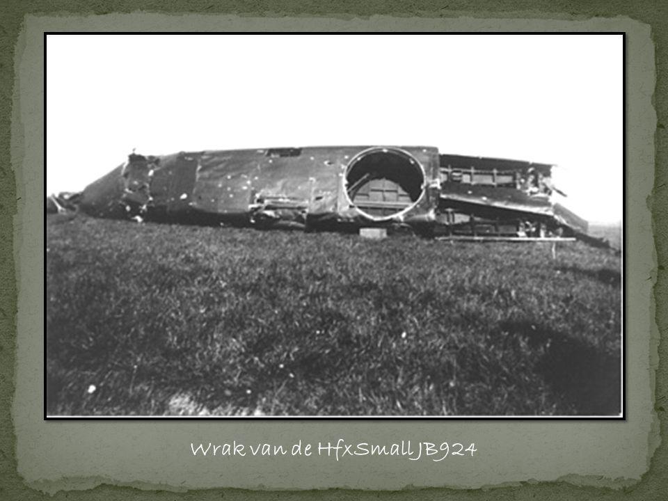 Wrak van de HfxSmall JB924