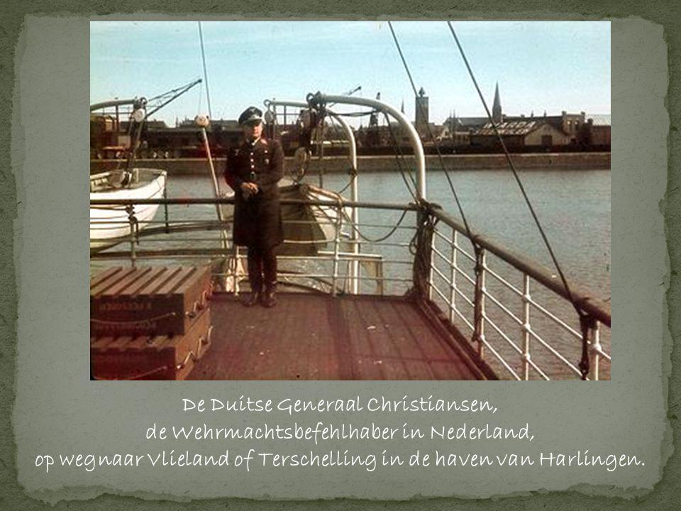 De Duitse Generaal Christiansen,