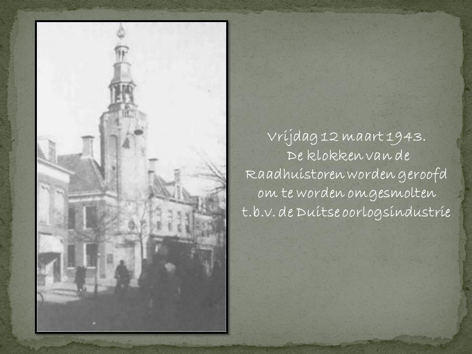 Vrijdag 12 maart 1943.