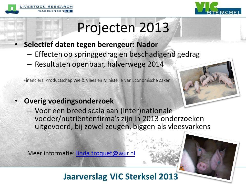 Projecten 2013 Selectief daten tegen berengeur: Nador