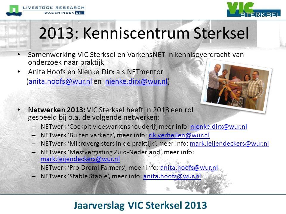 2013: Kenniscentrum Sterksel