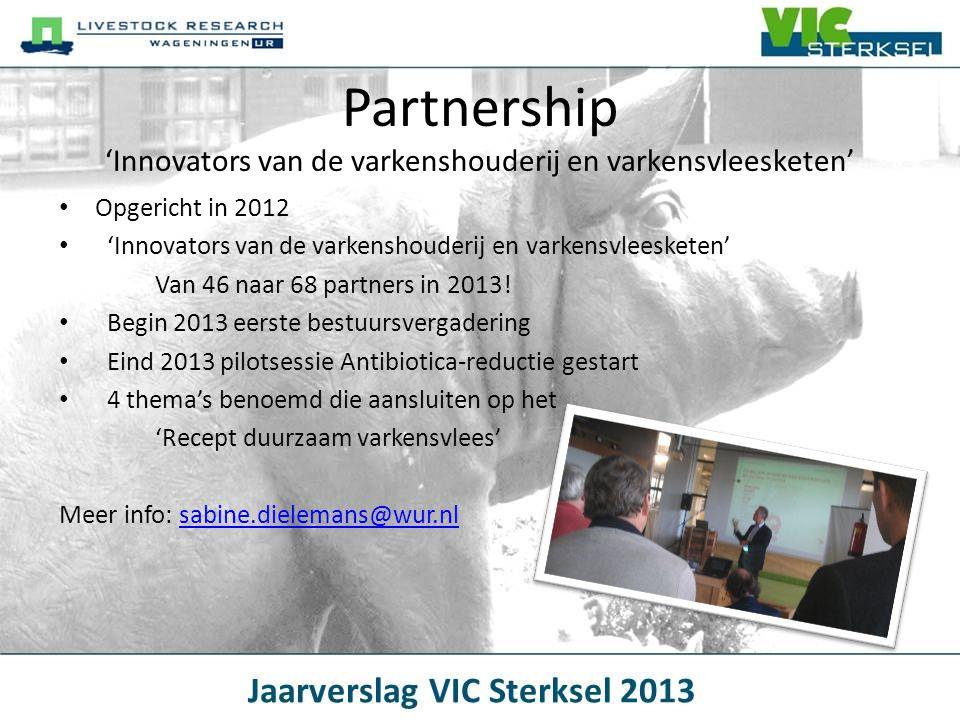 Partnership 'Innovators van de varkenshouderij en varkensvleesketen'