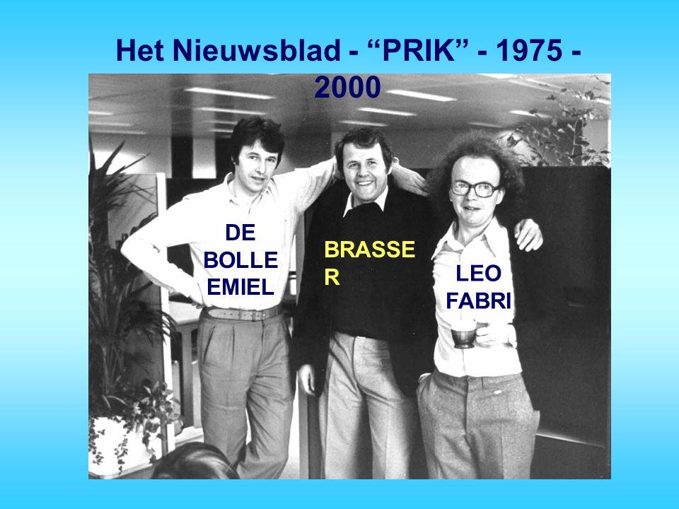 Het Nieuwsblad - PRIK - 1975 - 2000