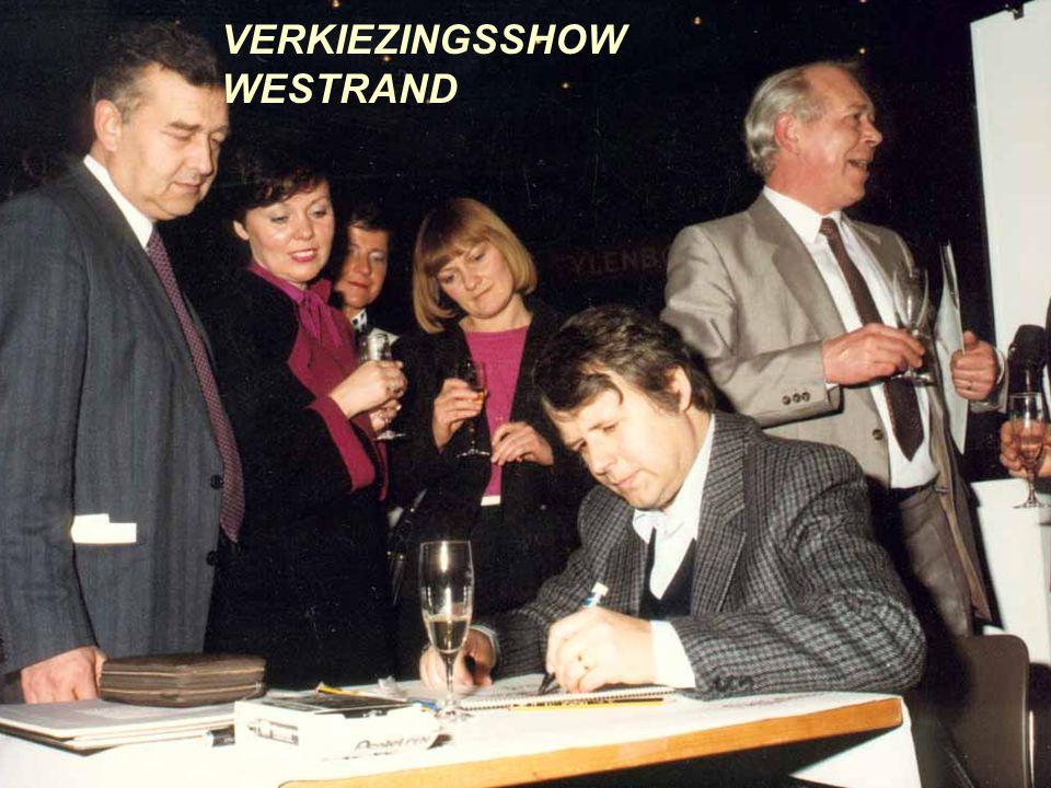 BRASSER & DE VRIENDEN VERKIEZINGSSHOW WESTRAND HALLE 1997