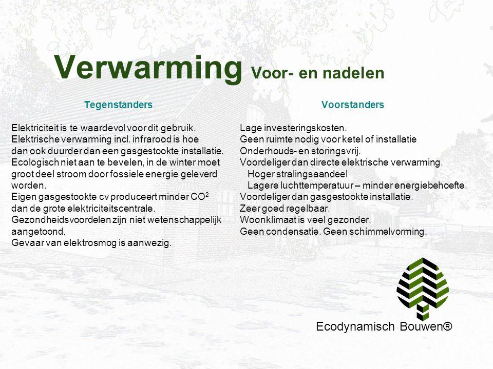 Verwarming Voor- en nadelen