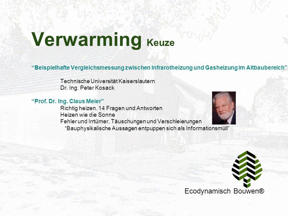 Verwarming Keuze Ecodynamisch Bouwen®
