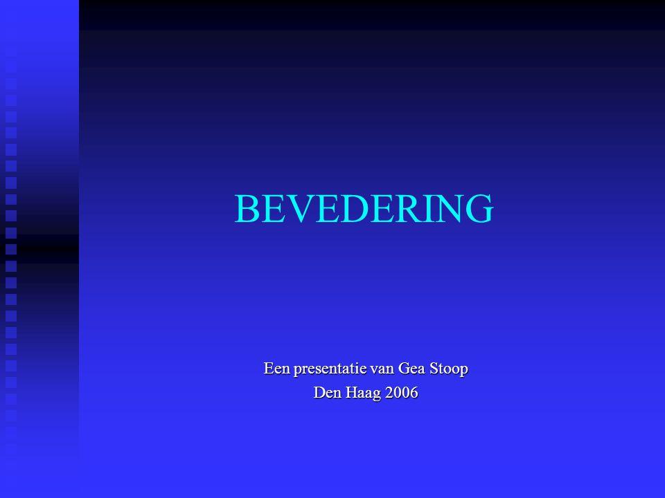 Een presentatie van Gea Stoop Den Haag 2006