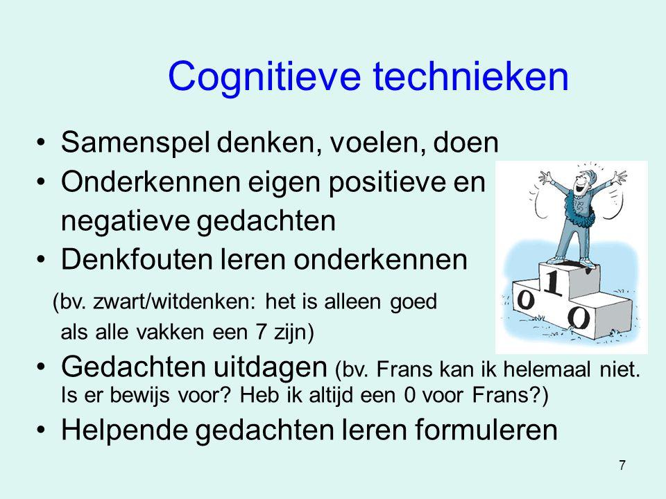 Cognitieve technieken