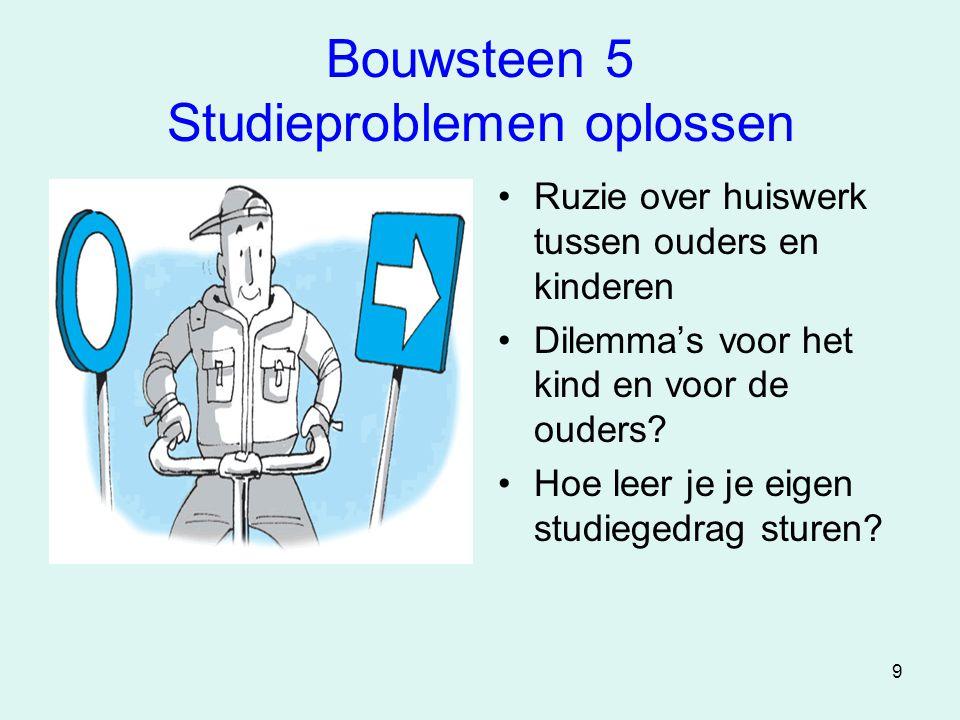 Bouwsteen 5 Studieproblemen oplossen