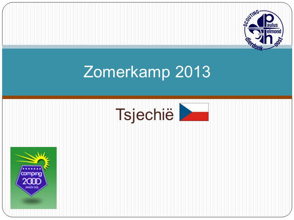 Zomerkamp 2013 Tsjechië