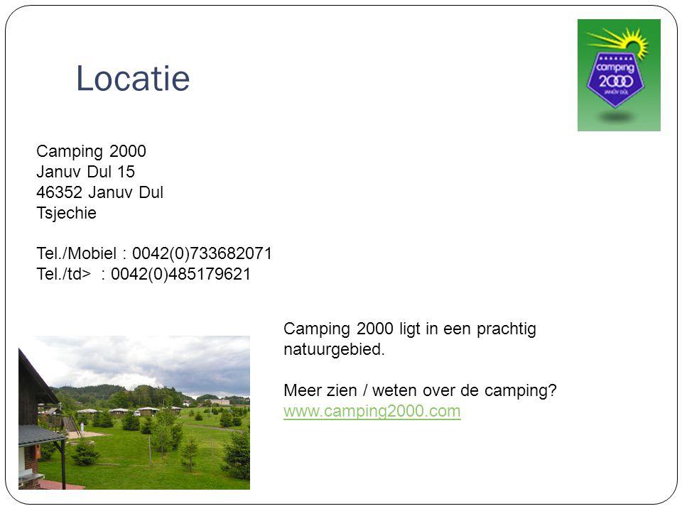 Locatie Camping 2000 Januv Dul 15 46352 Januv Dul Tsjechie