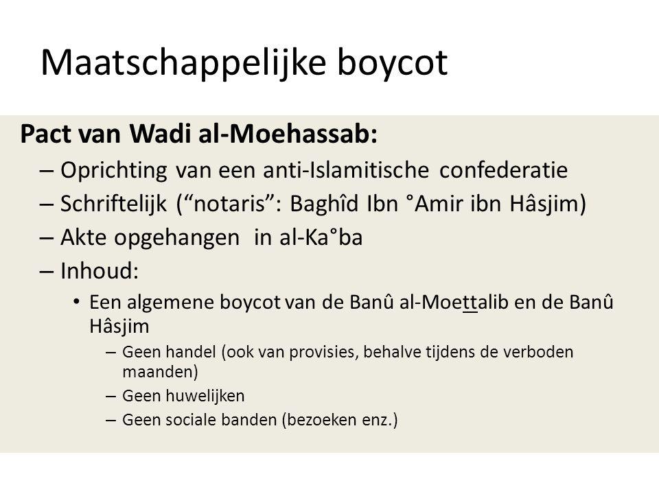 Maatschappelijke boycot