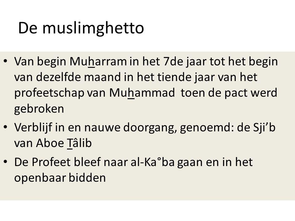 De muslimghetto