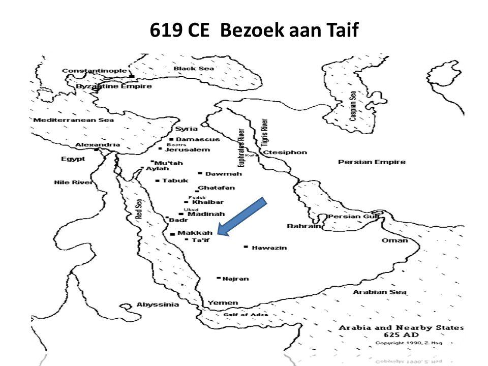 619 CE Bezoek aan Taif