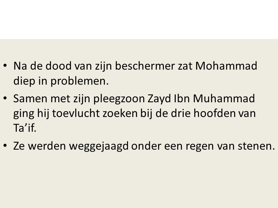 Na de dood van zijn beschermer zat Mohammad diep in problemen.
