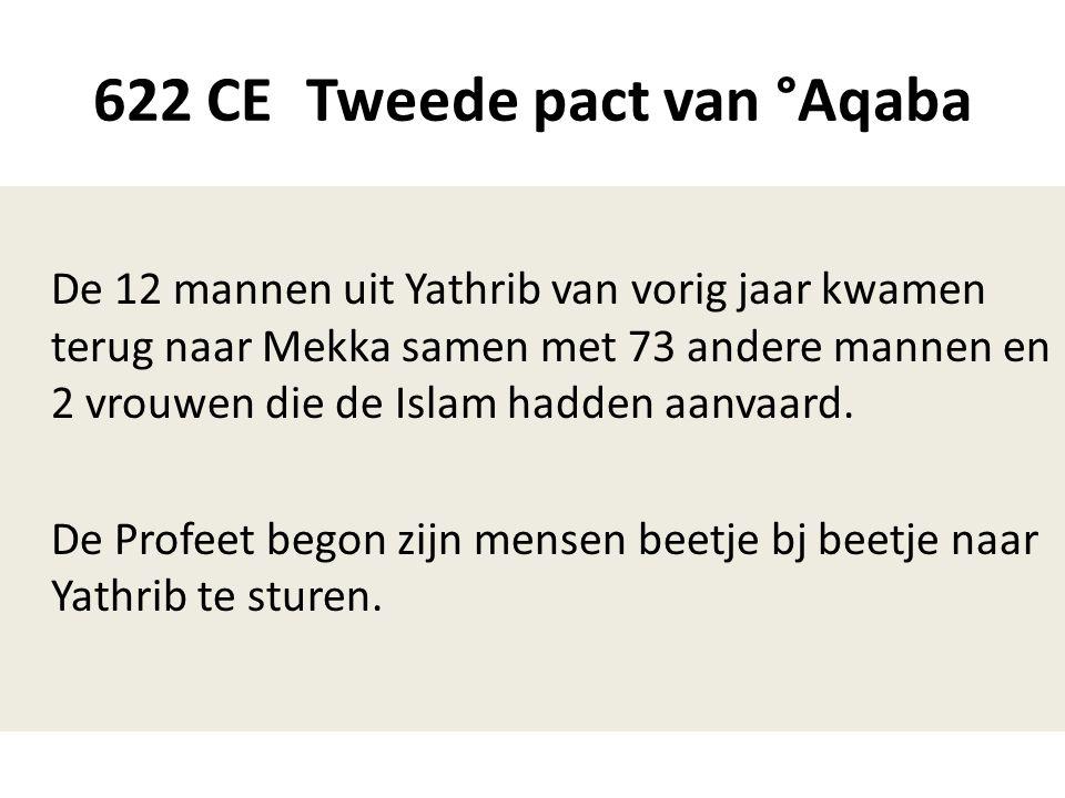622 CE Tweede pact van °Aqaba