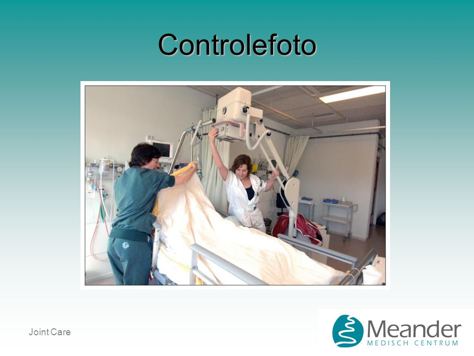 Controlefoto Joint Care