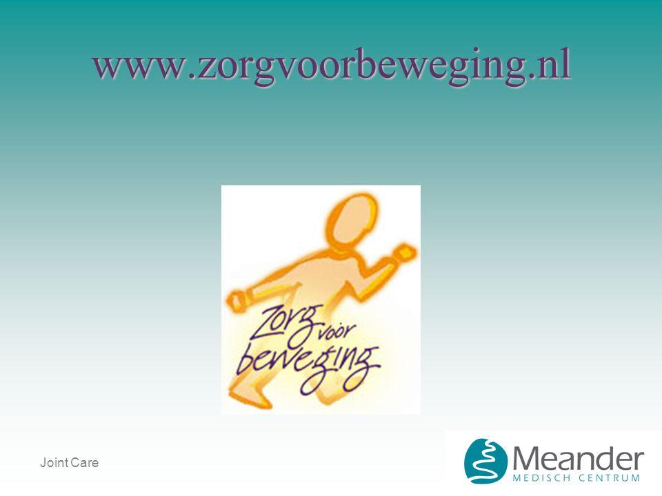www.zorgvoorbeweging.nl Joint Care