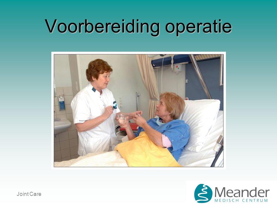 Voorbereiding operatie