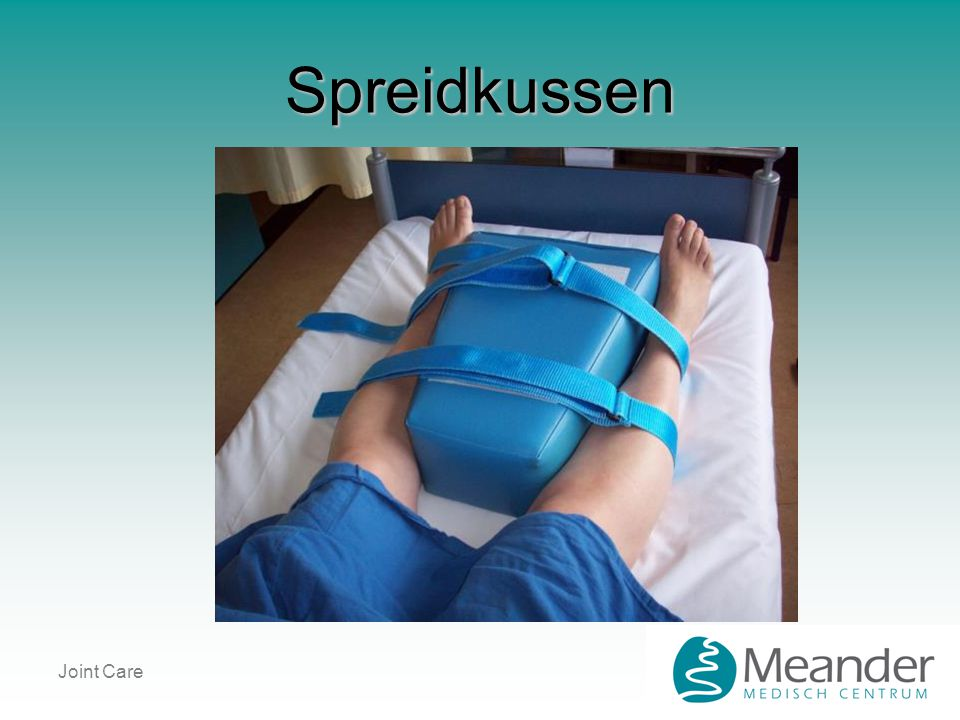 Spreidkussen Joint Care