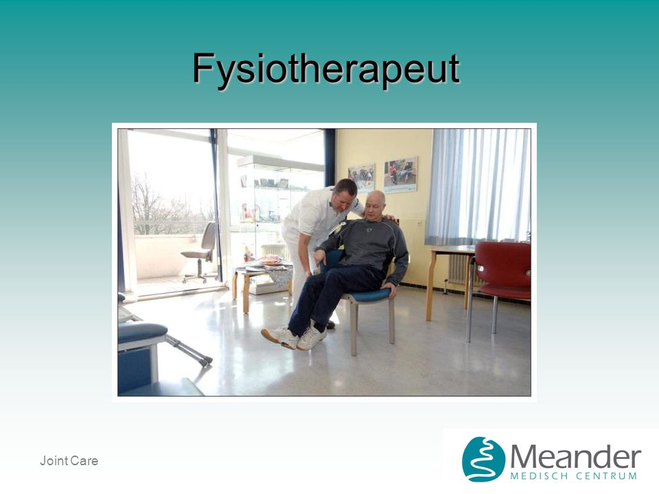 Fysiotherapeut Joint Care