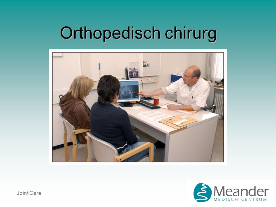 Orthopedisch chirurg Joint Care