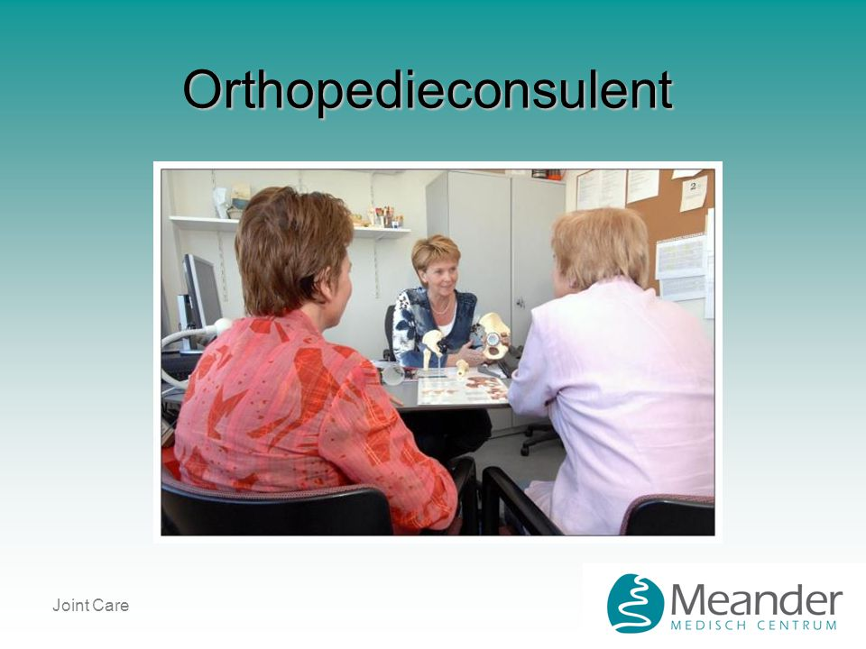 Orthopedieconsulent Joint Care