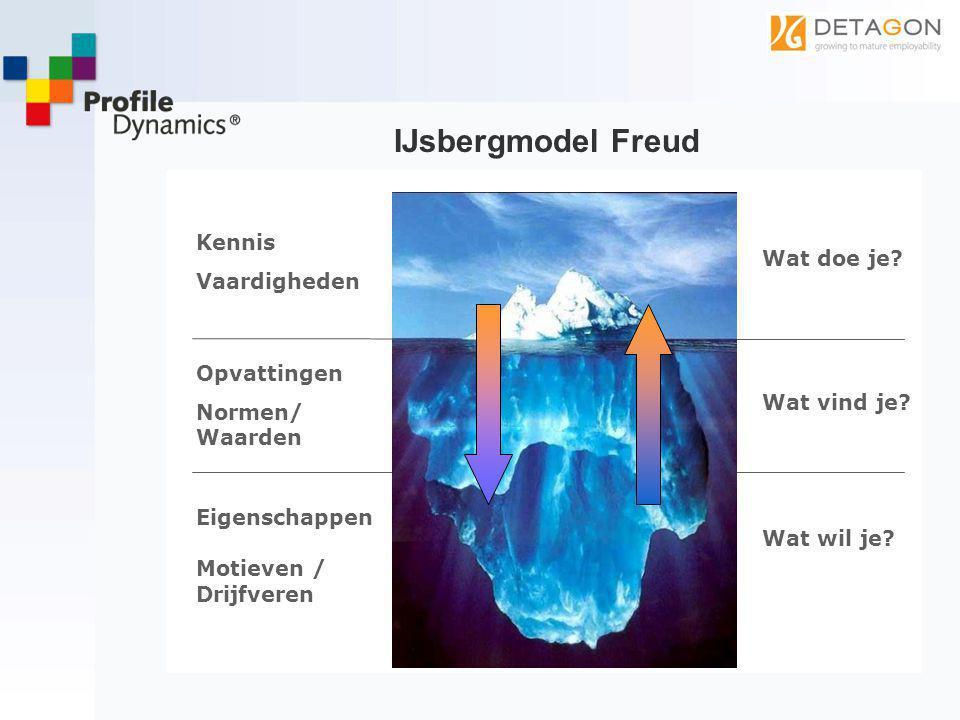 IJsbergmodel Freud Kennis Vaardigheden Wat doe je Opvattingen