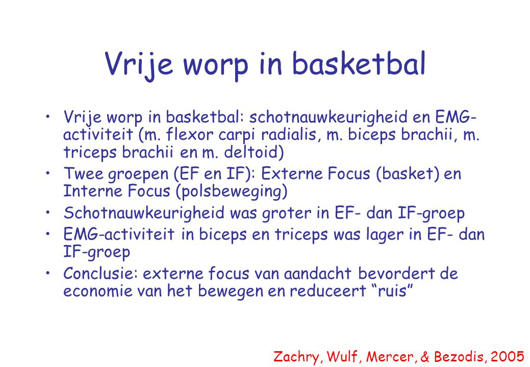 Vrije worp in basketbal
