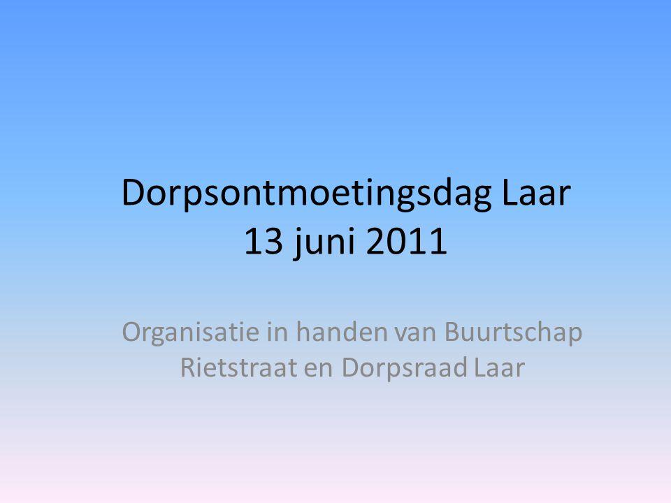 Dorpsontmoetingsdag Laar 13 juni 2011