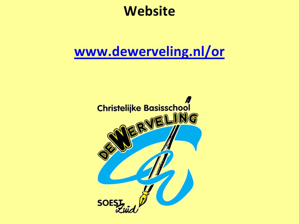 Website www.dewerveling.nl/or