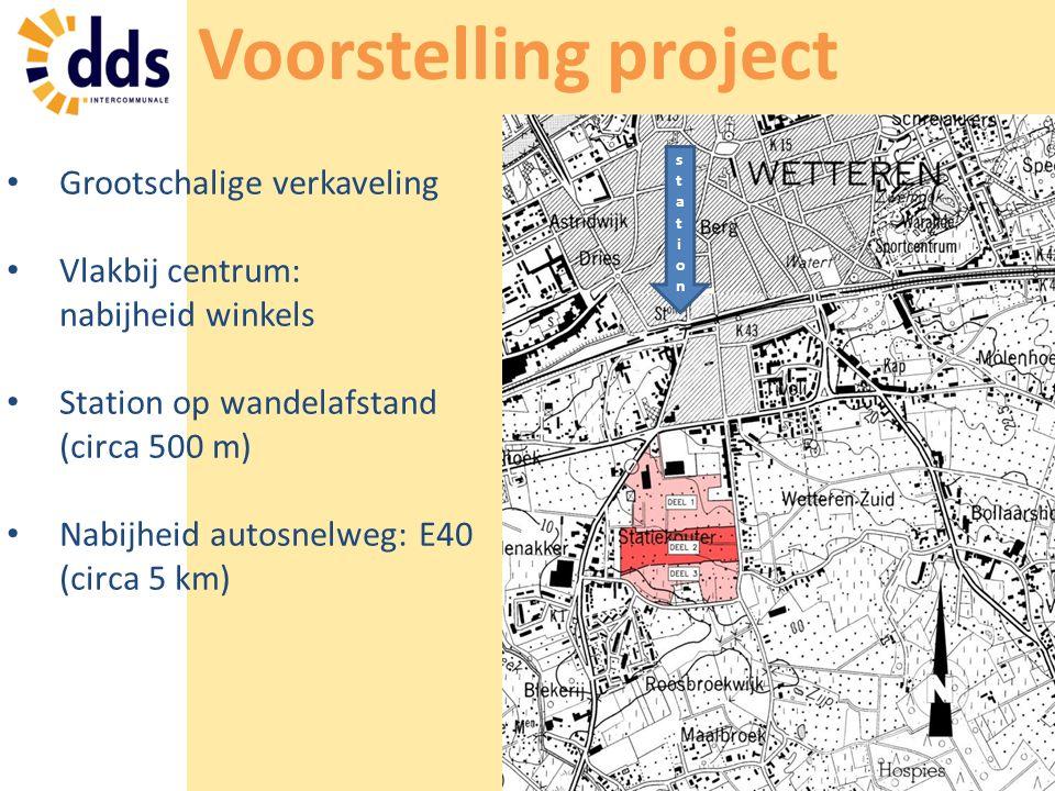 Voorstelling project Grootschalige verkaveling