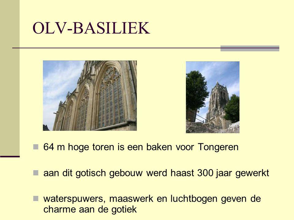OLV-BASILIEK 64 m hoge toren is een baken voor Tongeren
