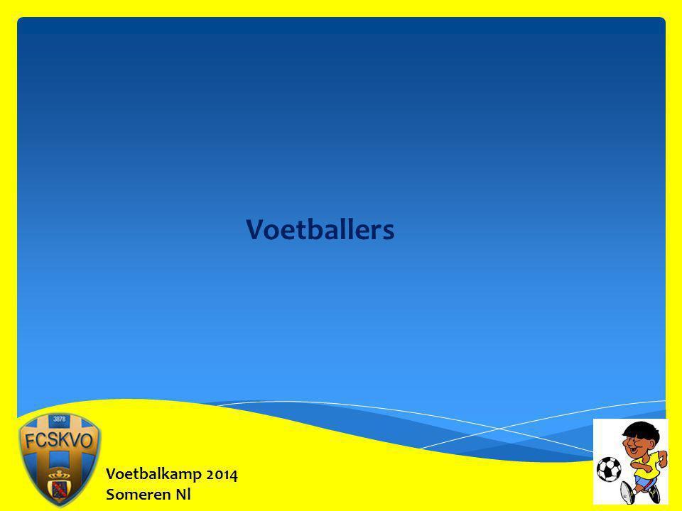 Voetballers Voetbalkamp 2014 Someren Nl