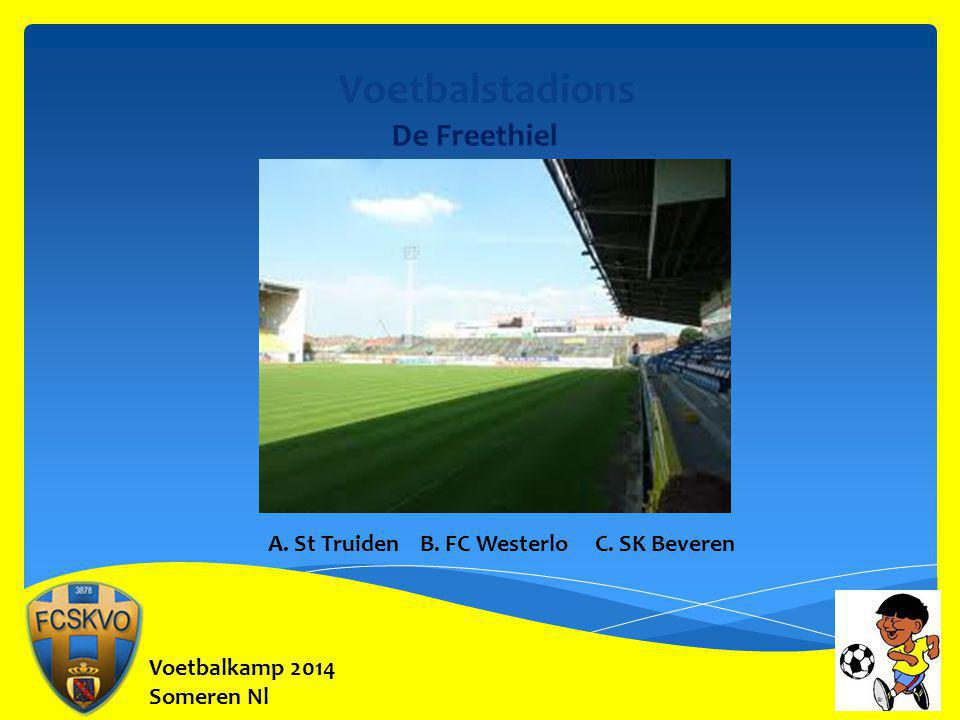 Voetbalstadions De Freethiel